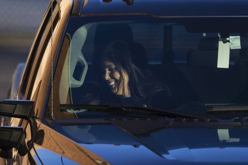 Former Pennsylvania Attorney General Kathleen Kane arrives at the Montgomery County Correctional Facility in Eagleville, Pa., to begin serving a 10- to 23-month perjury sentence, Thursday, Nov. 29, 2018.