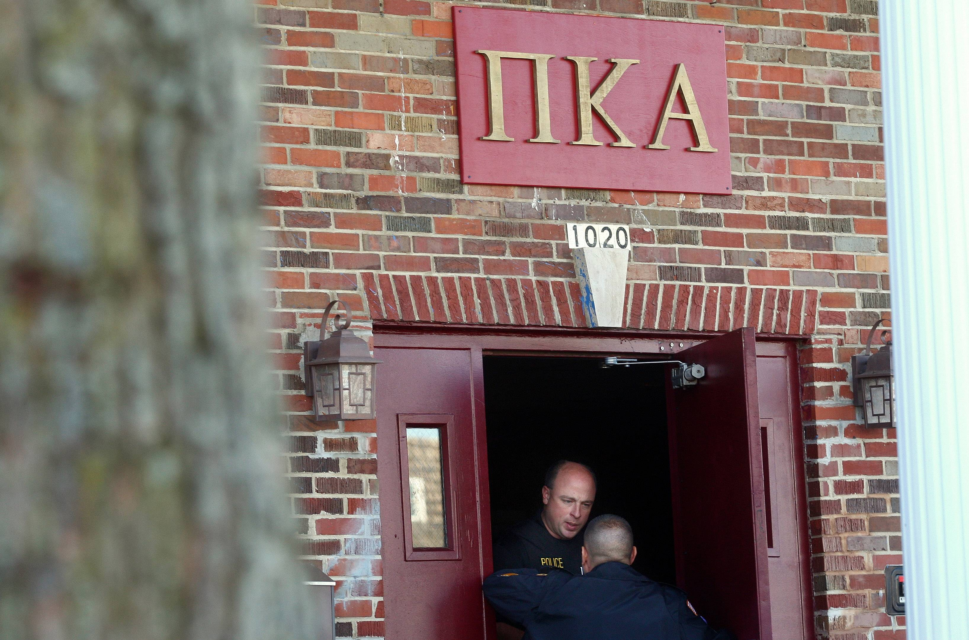 DeKalb and Northern Illinois University police investigate the death in 2012 of NIU freshman David Bogenberger at the Pi Kappa Alpha house in DeKalb.