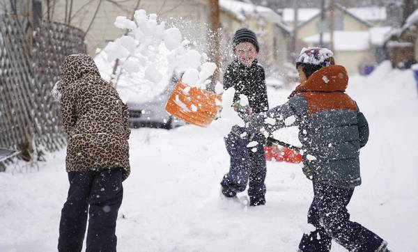 will suburban schools opt for e learning on snow days