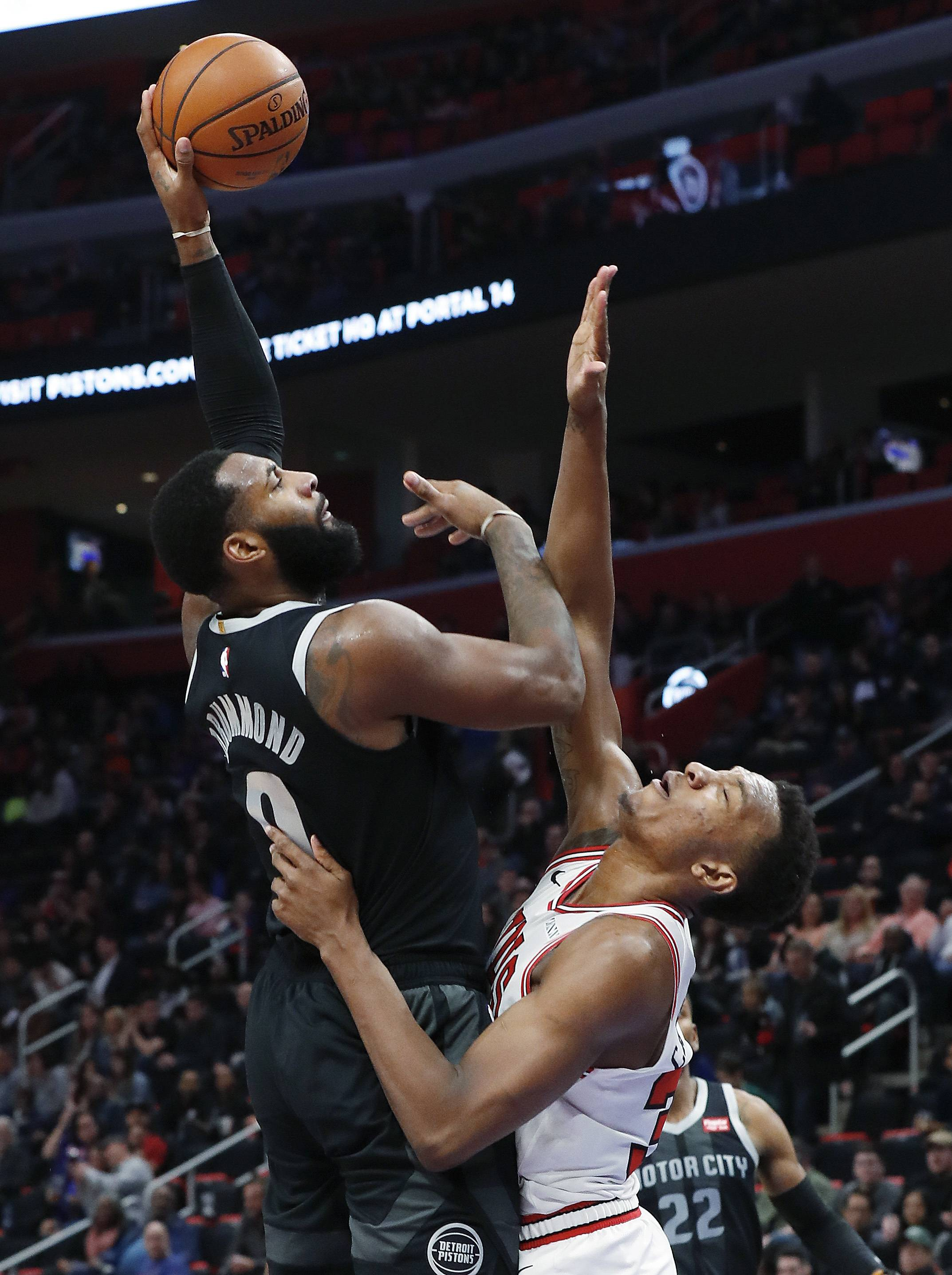 Carter comes alive with 28 points, but Bulls lose to Pistons