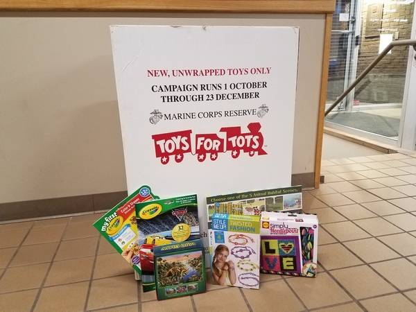 Toys For Tots Collection Bo Are Available At Multiple Naperville Park District Locations