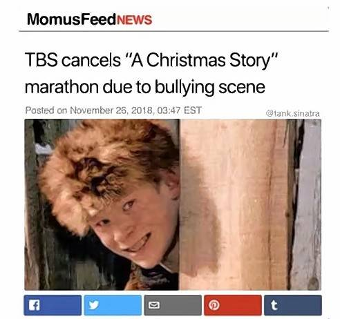 Christmas Story 2020 Tbs Schedule Facts Matter: Bullying scene stopping 'Christmas Story' marathon