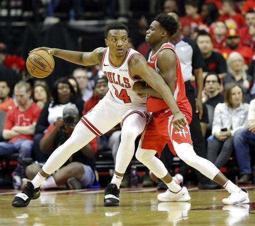 Houston Rockets House Jr: Harden Scores 30 As Rockets Beat Bulls 121-105