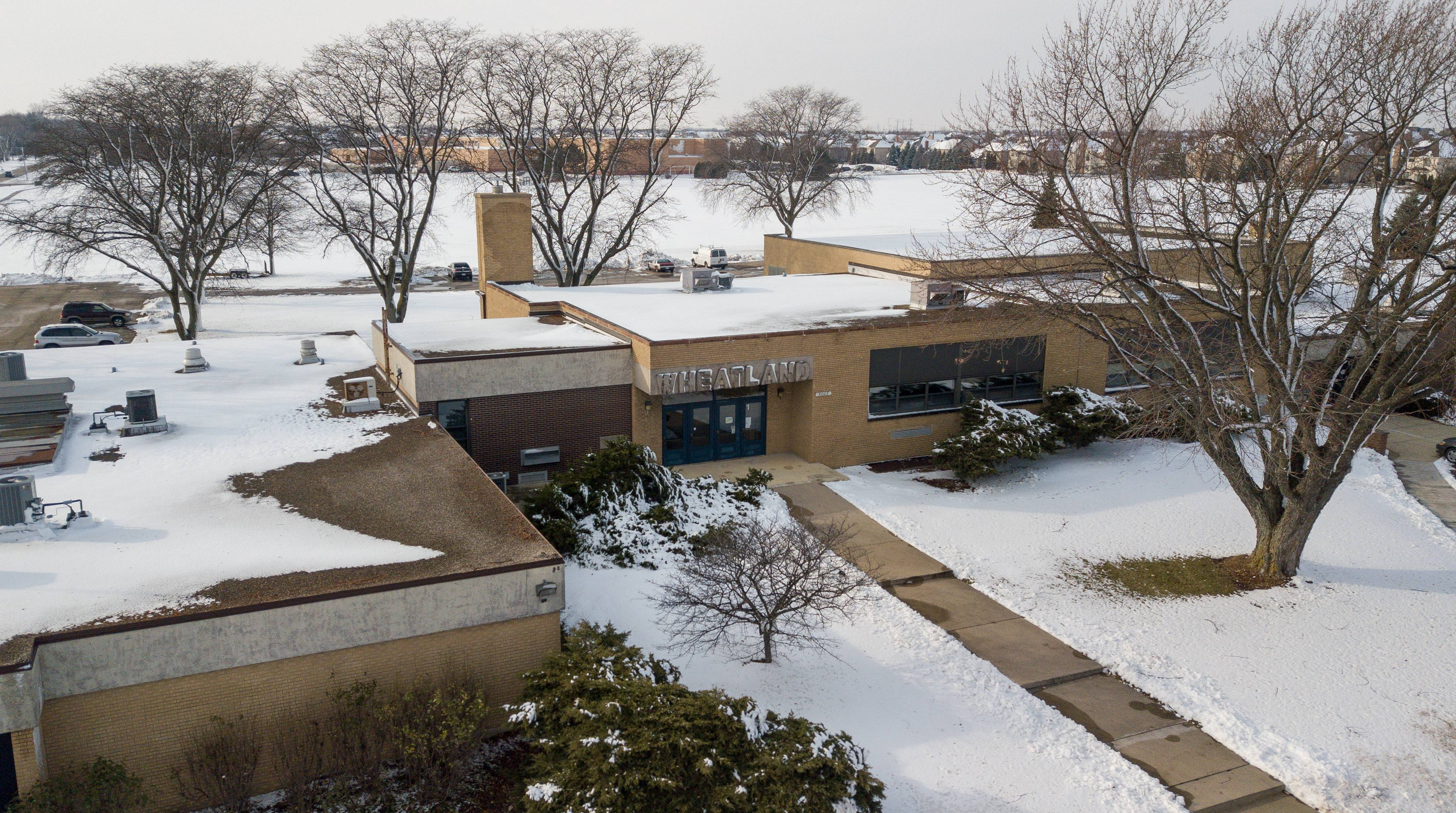The former Wheatland Elementary School in Indian Prairie Unit District 204 is set to be renovated before next August to host students and staff members in the district's Indian Plains alternative high school program. Indian Plains, which has a core that dates to 1929, will be demolished.