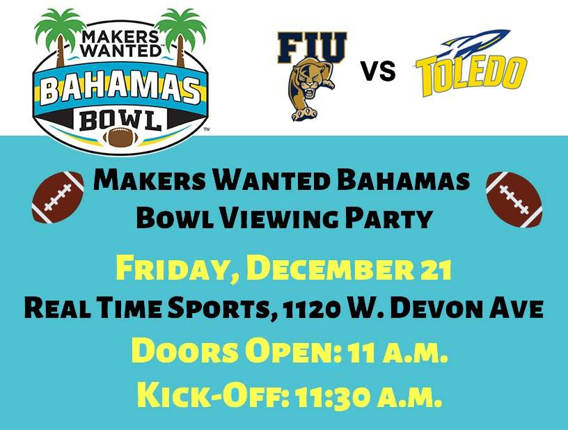 Makers Wanted Bahamas Bowl Viewing Party in Elk Grove Village