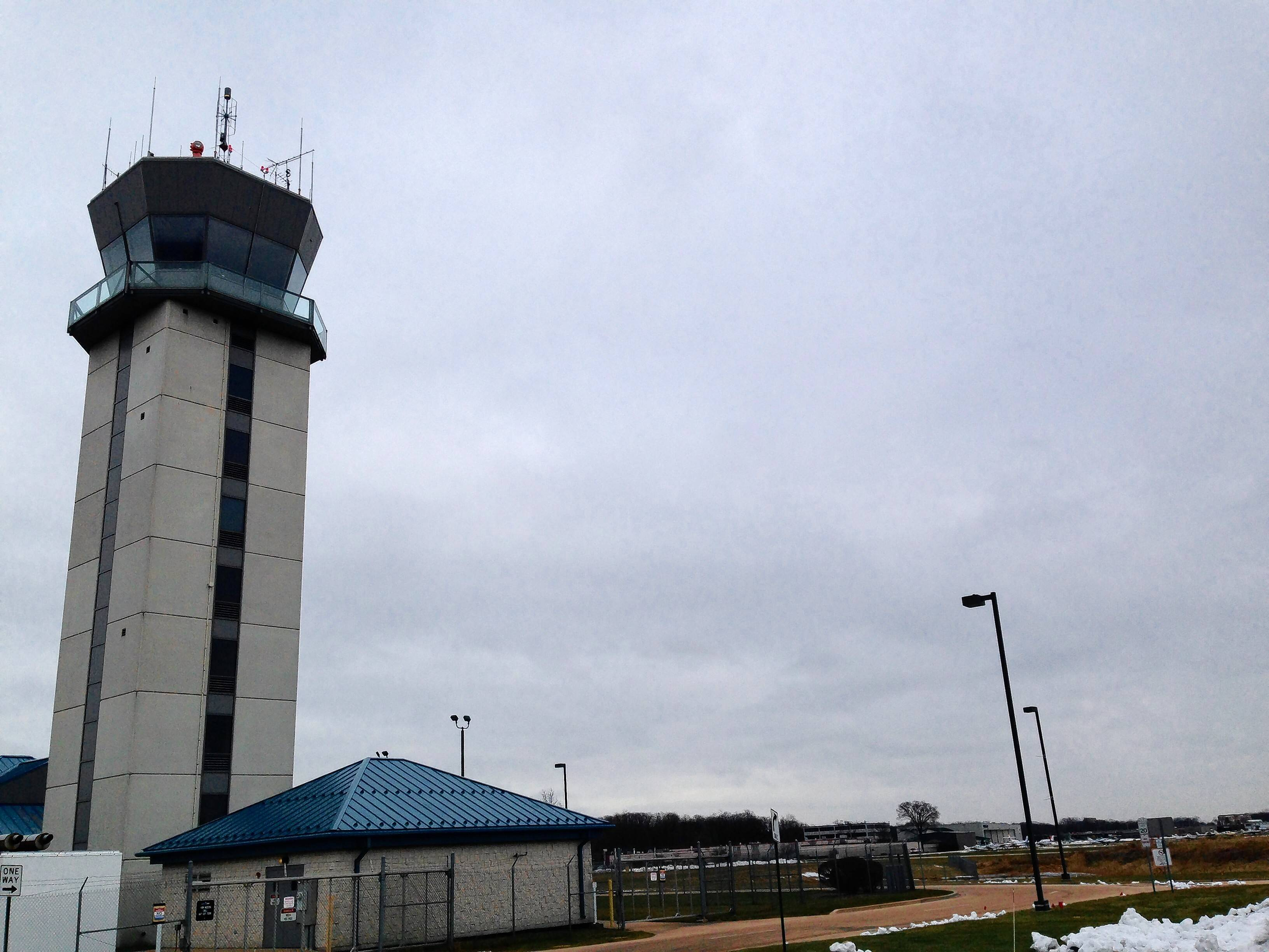 This is the control tower at Chicago Executive Airport. As the airport continues to work on an updated advisory master plan that could include a longer main runway, the idea is drawing concern from some residents in the two towns that own the facility.