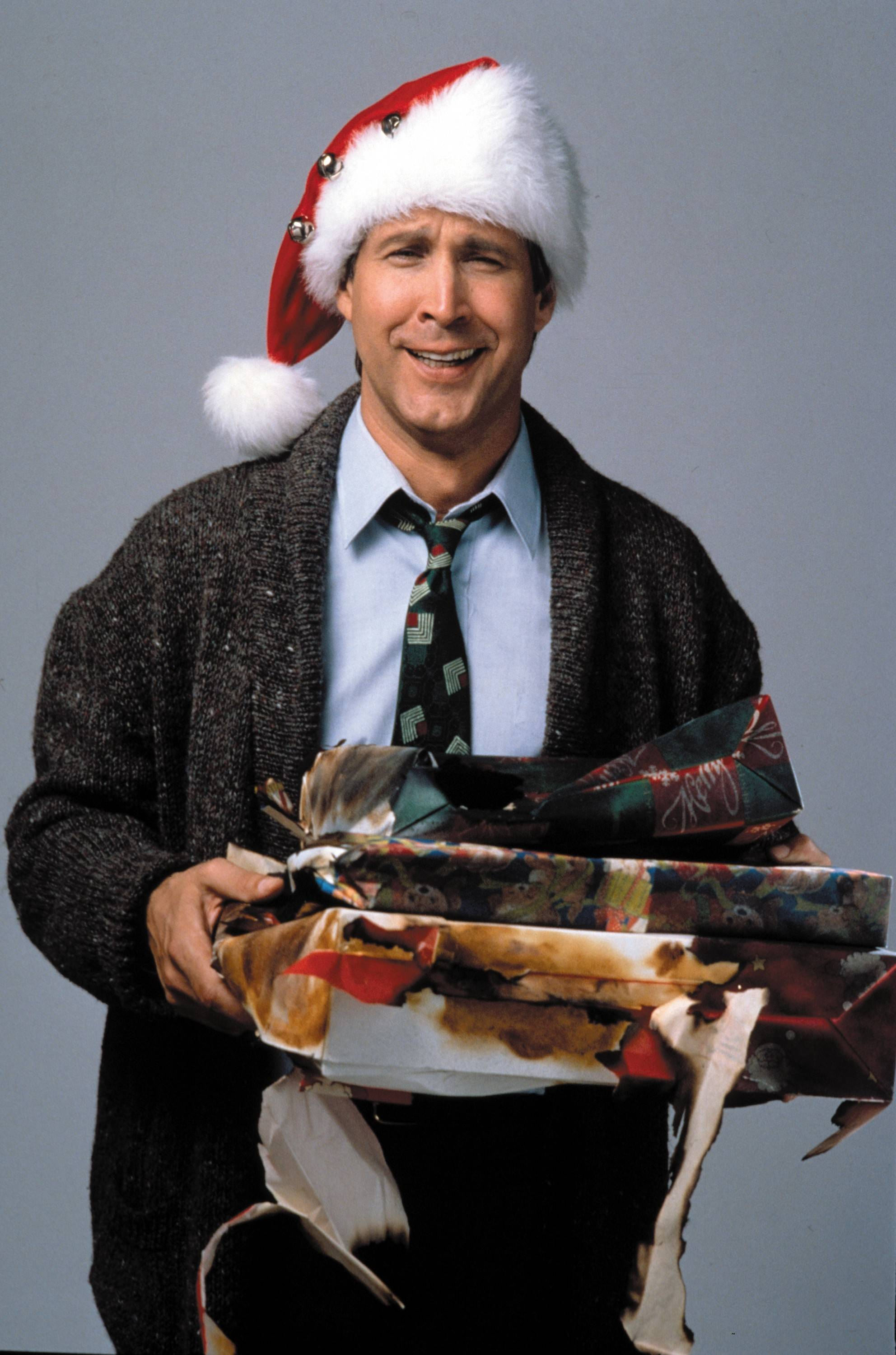 "Chevy Chase as Clark Griswold in ""National Lampoon's Christmas Vacation."""