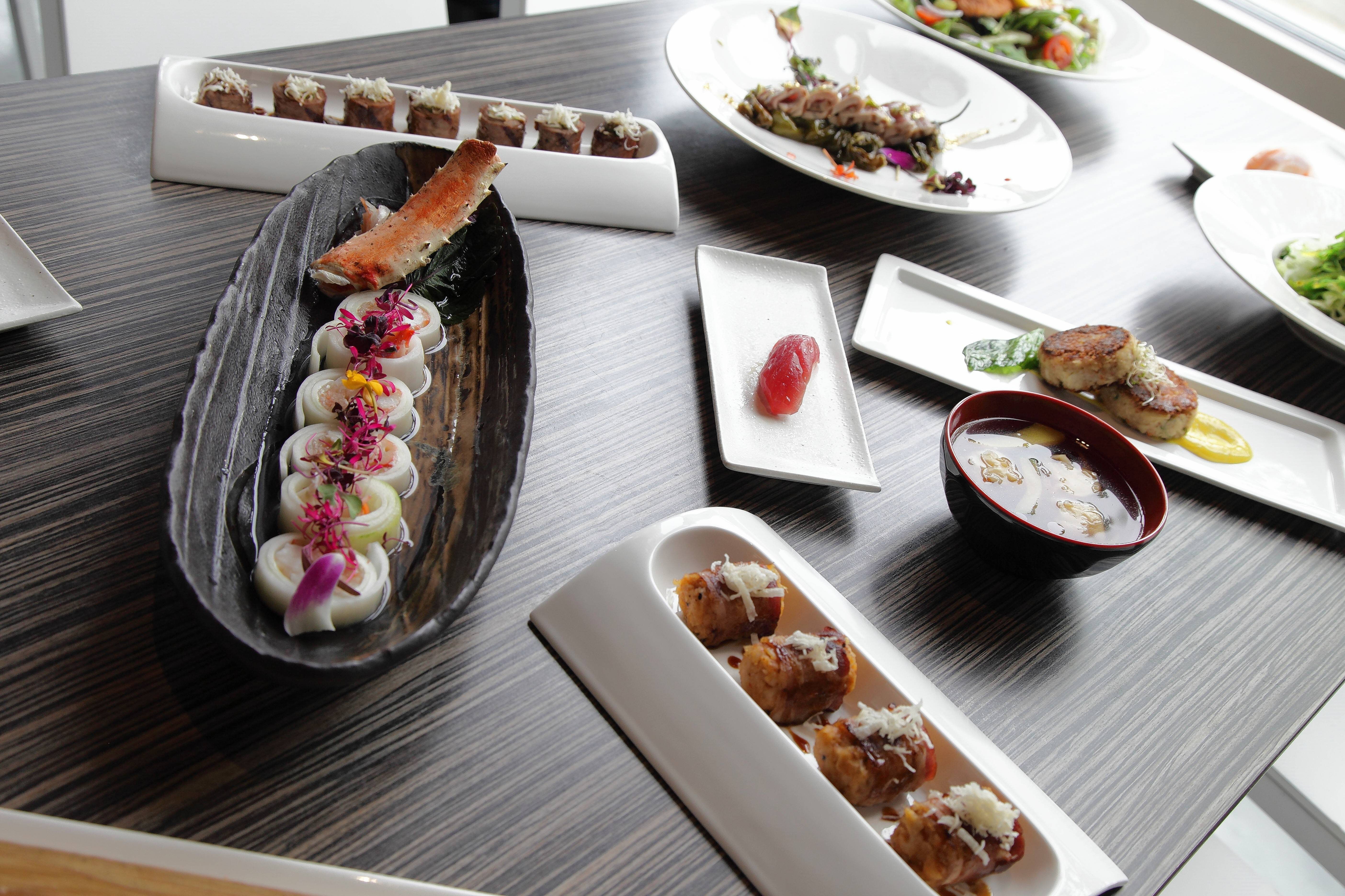 You can make a meal out of all the small plates on the appetizer menu at Shakou.