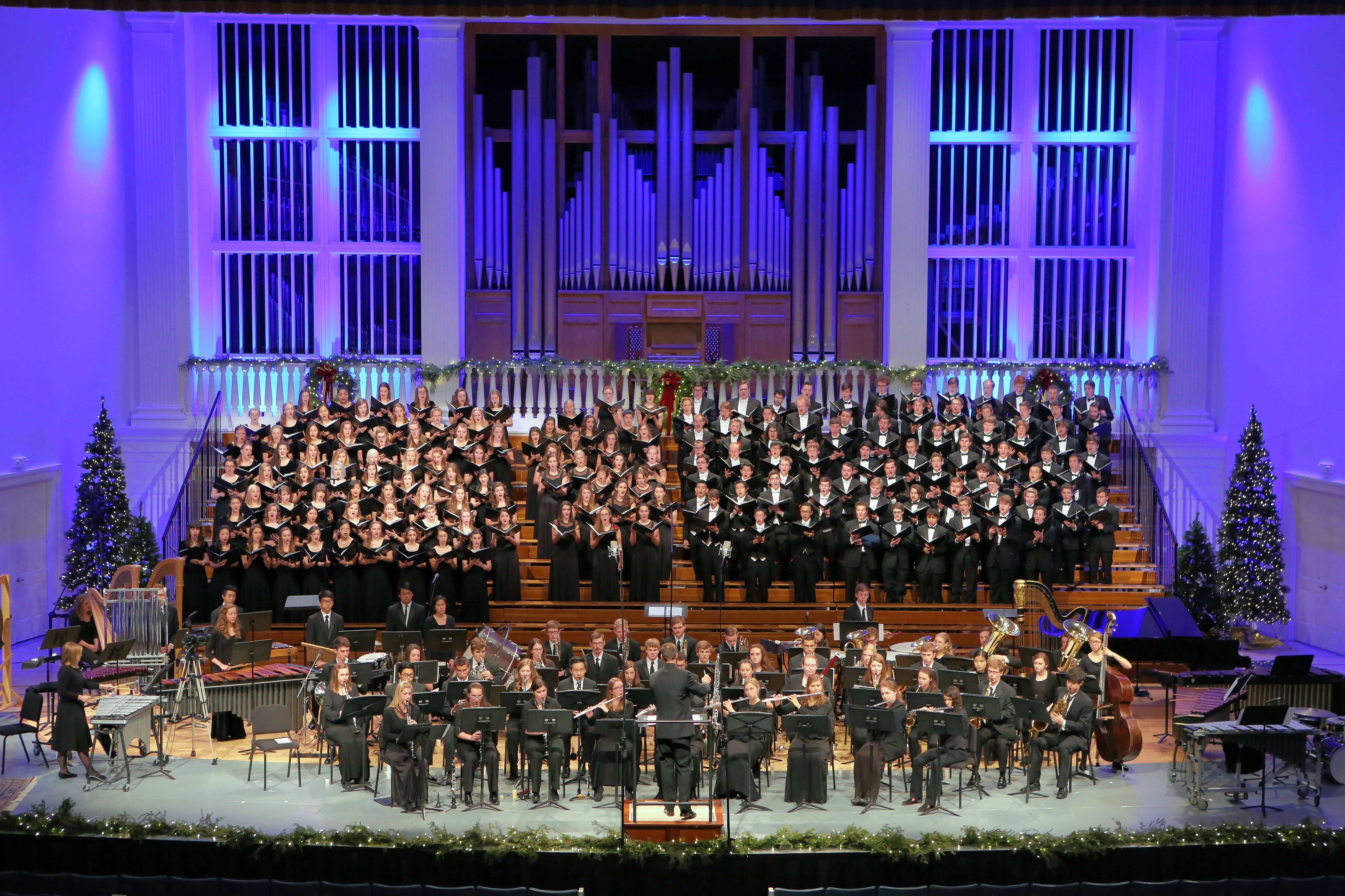 Wheaton College will celebrate its annual Christmas Festival with performances Friday and Saturday, Dec. 7-8, in Edman Chapel.