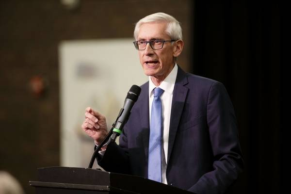 Image result for tony evers speaking