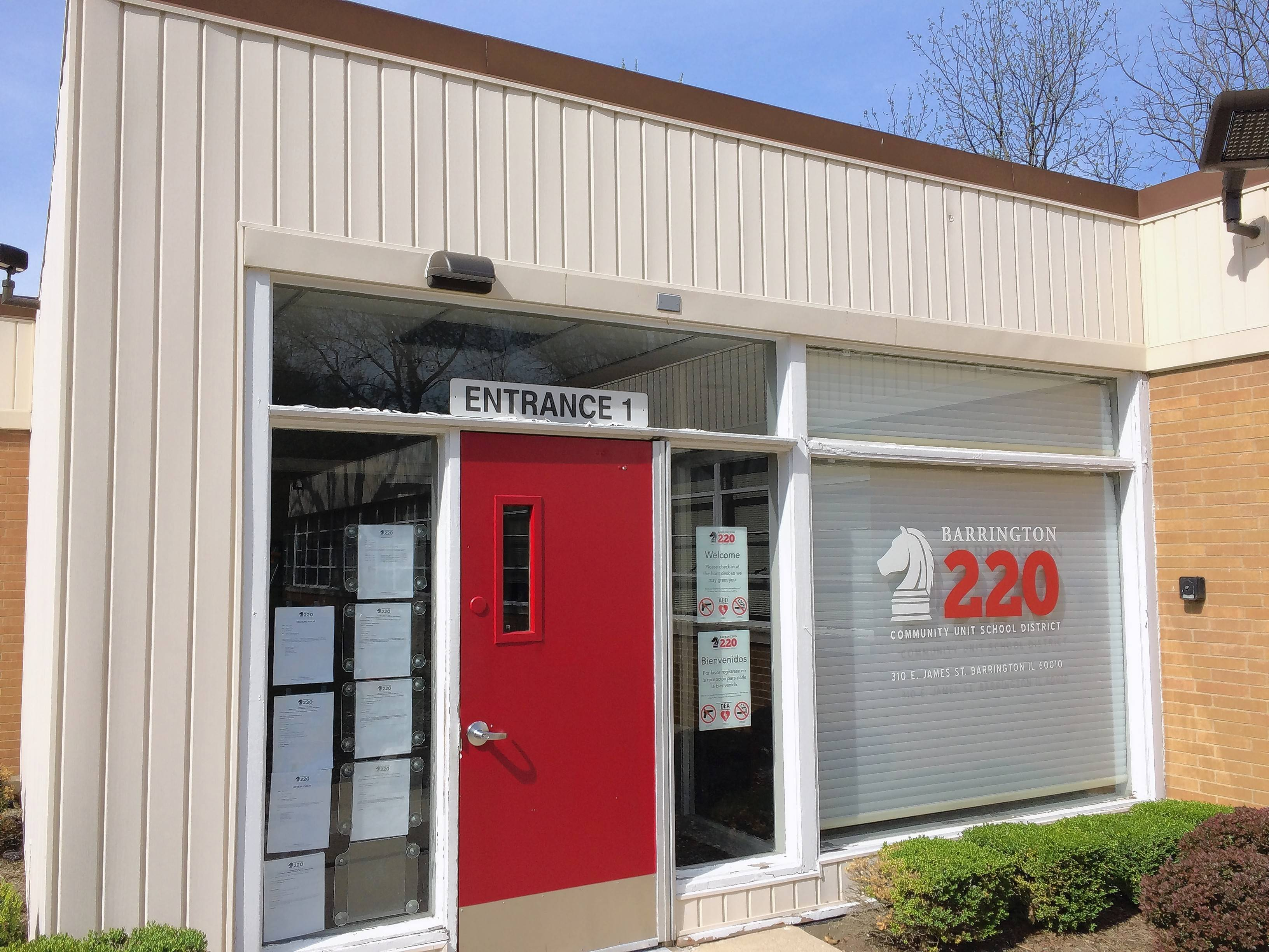 Barrington Area Unit District 220's central office on James Street in Barrington lacks parking and work space, officials said, which is why a new headquarters will be established in a former PepsiCo Inc. building on Main Street.