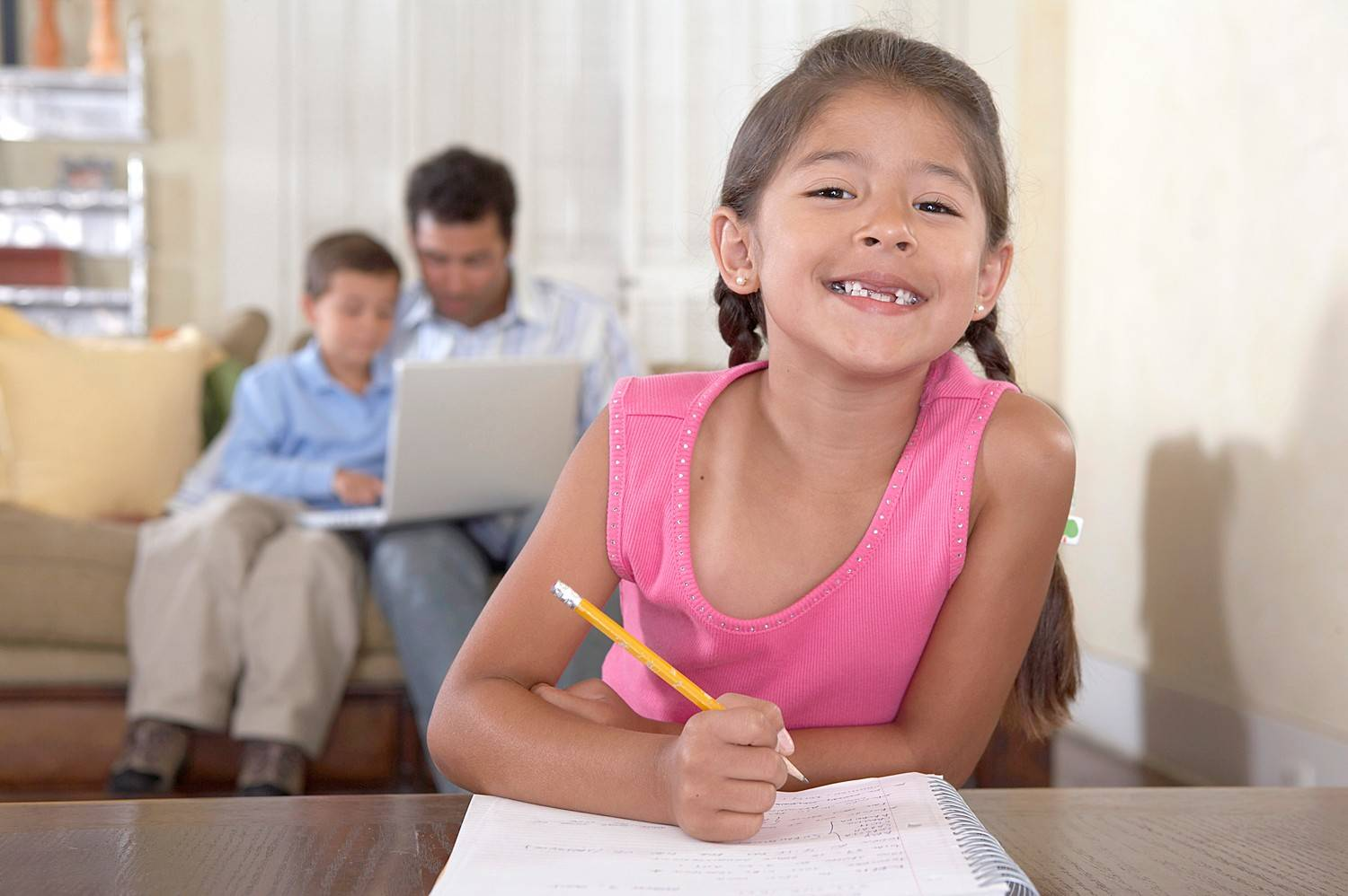 Is it truly possible to help your child smile while doing homework? Our Ken Potts says it is.
