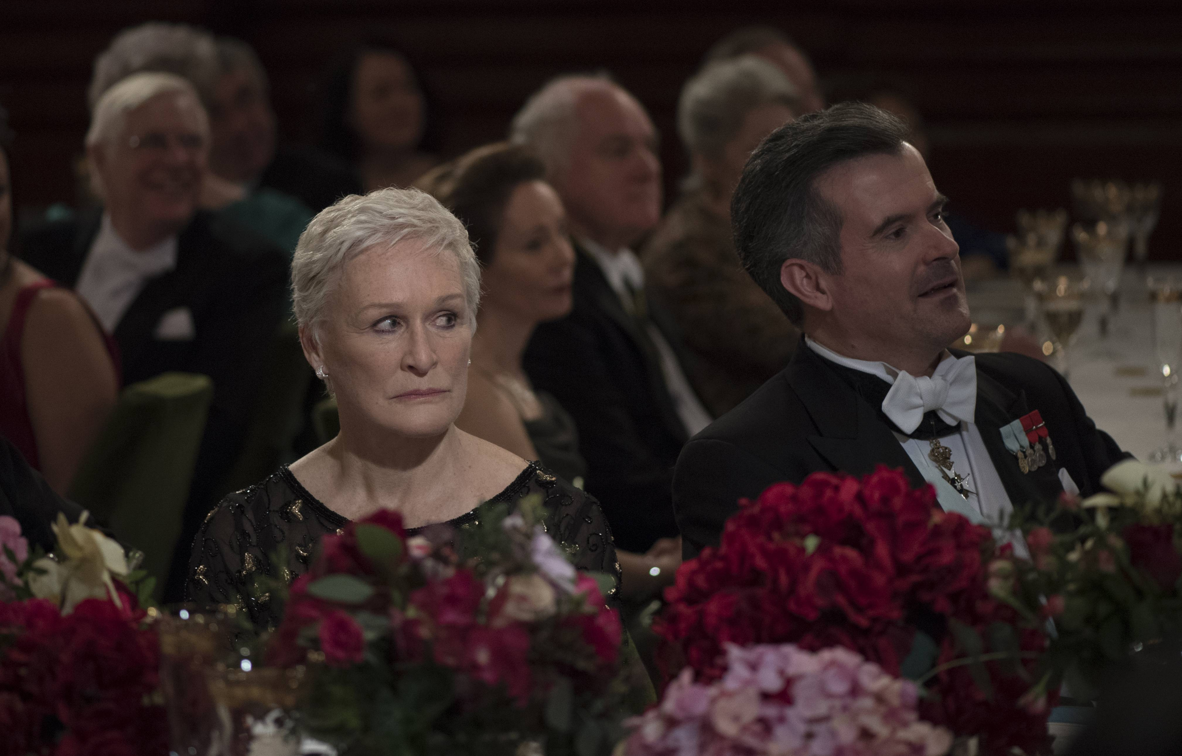"This image released by Sony Pictures Classics shows Glenn Close in a scene from ""The Wife."" On Thursday, Dec. 6, 2018, Close was nominated for a Golden Globe award for lead actress in a motion picture drama for her role in the film. The 76th Golden Globe Awards will be held on Sunday, Jan. 6."