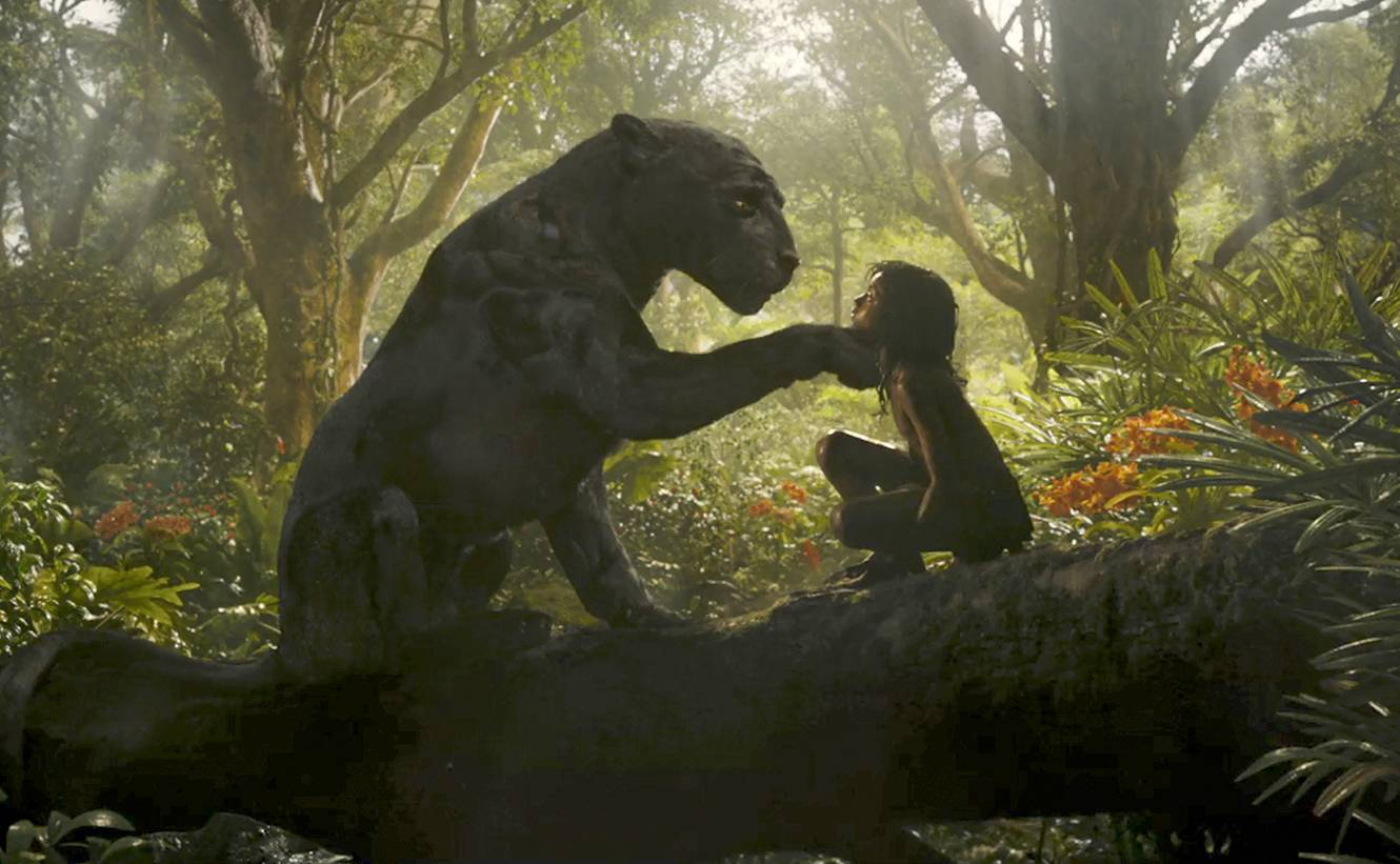 "An orphaned boy (Rohan Chand) is rescued by the panther Bagheera (voice of Christian Bale) after his parents are killed by a tiger in ""Mowgli: Legend of the Jungle."""