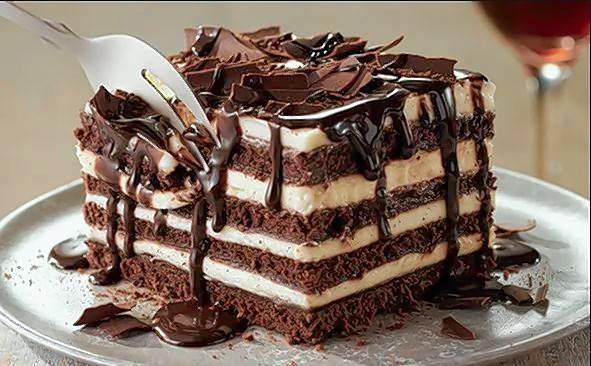 Saturday is National Brownie Day. Olive Garden's chocolate brownie lasagna might satisfy your craving.