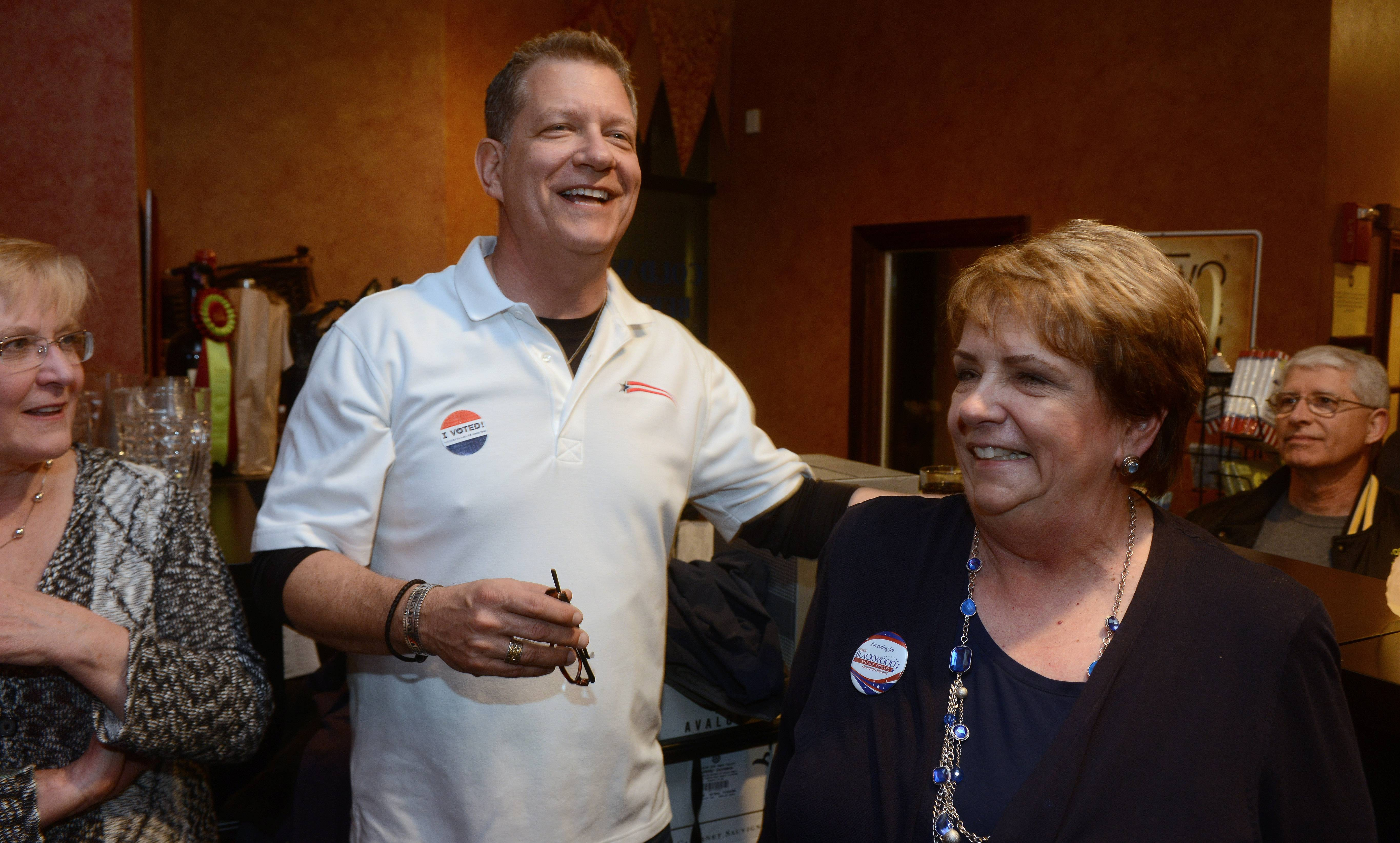 Arlington Heights Trustees Mike Sidor and Carol Blackwood, who won re-election in 2015, have decided not to run again in the upcoming local elections.