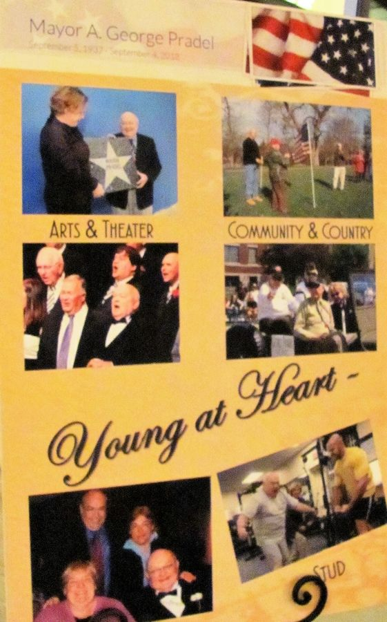"""Young at Heart!,"" the Mayor Emeritus Memorial Board, was on display at the Riverwalk Adult Day Services Gala Oct. 25 at Meson Sabika."