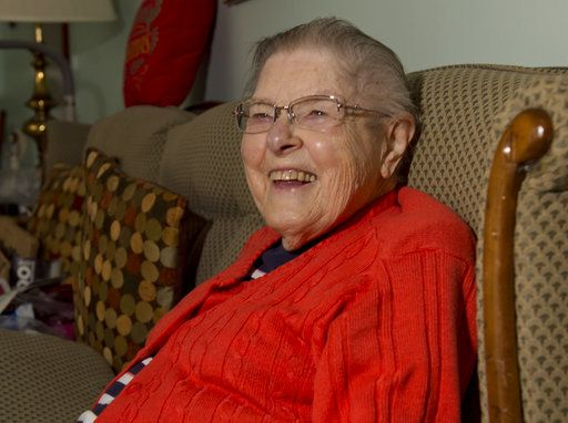 Meals on Wheels volunteer keeps going at age 93