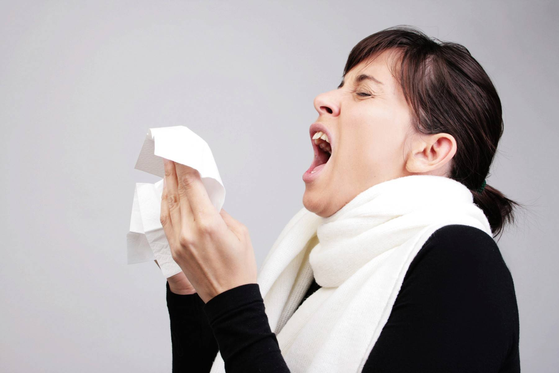 Are you coughing? Do you have a fever, chills, a sore throat or a headache?