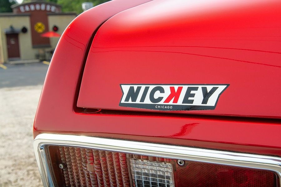 "The car was bought new in August 1972 from Chicago's legendary dealership Nickey Chevrolet. ""I certainly knew the name, having heard their 'Nickey! Nickey! Nickey Chevrolet' commercial jingle all the time on the radio,"" recalls Mark."