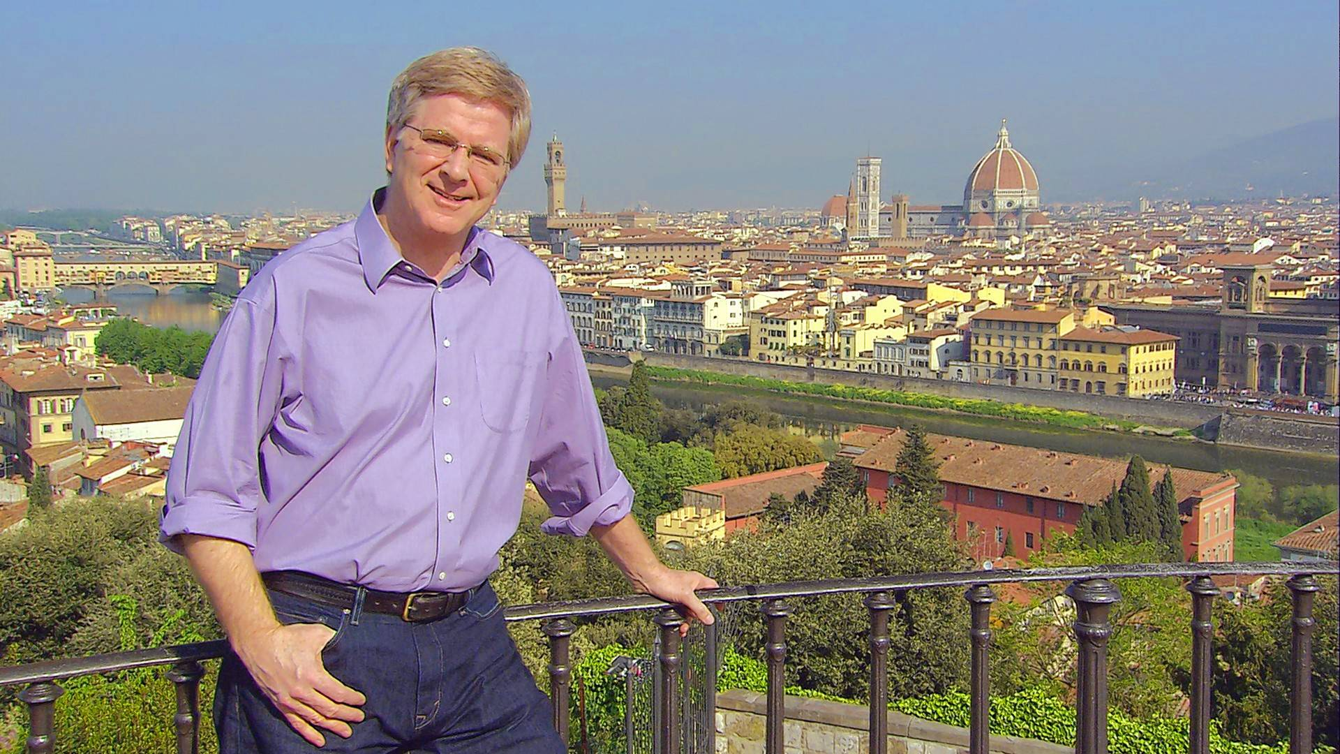 Travel writer and TV host Rick Steves is scheduled to appear at the Travel & Adventure Show at Rosemont's Donald E. Stephens Convention Center on Saturday and Sunday, Jan. 12 and 13.