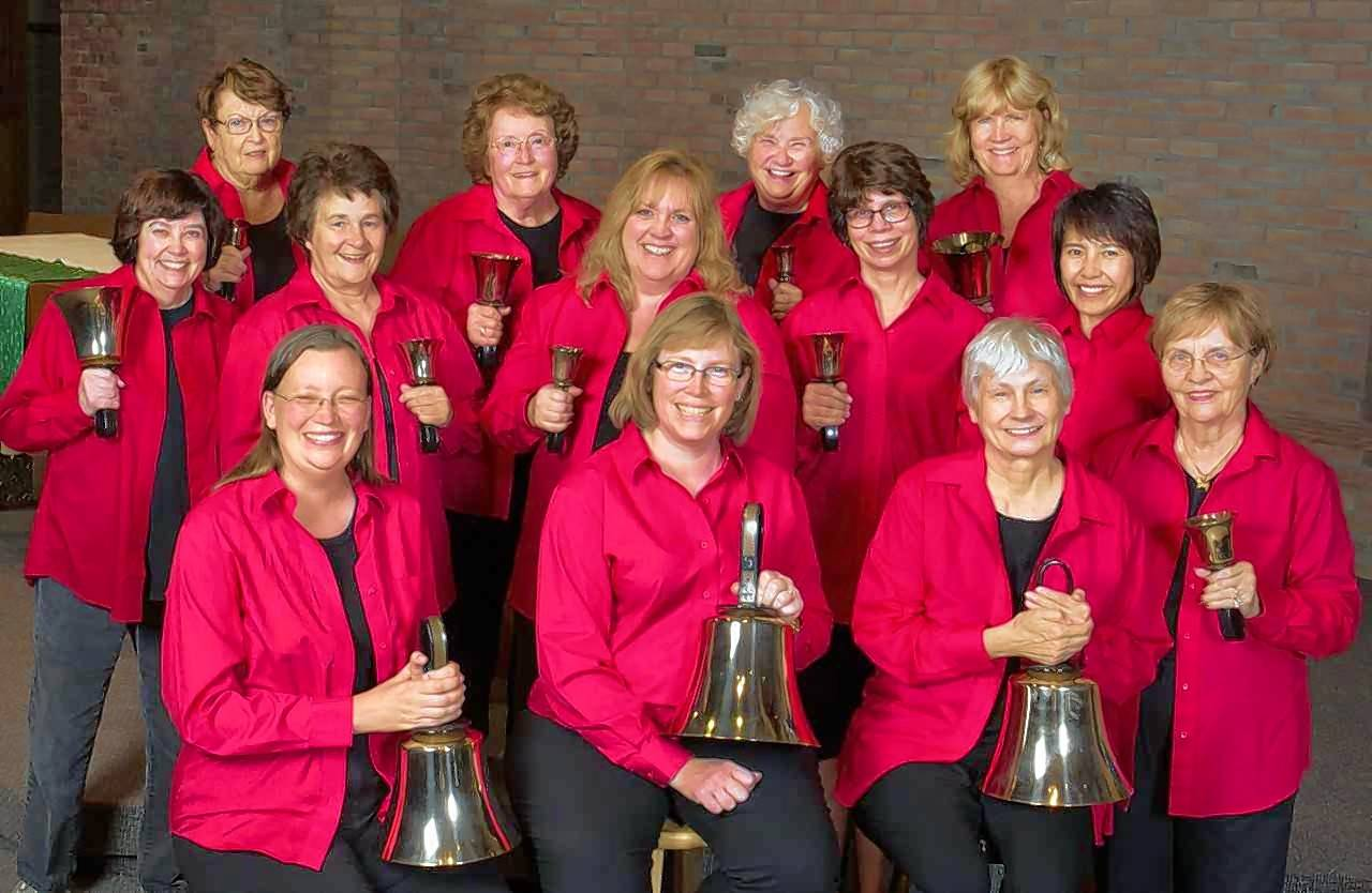 The Random Ringers women's handbell ensemble is based in Arlington Heights, but members come from all over the North and Northwest suburbs.