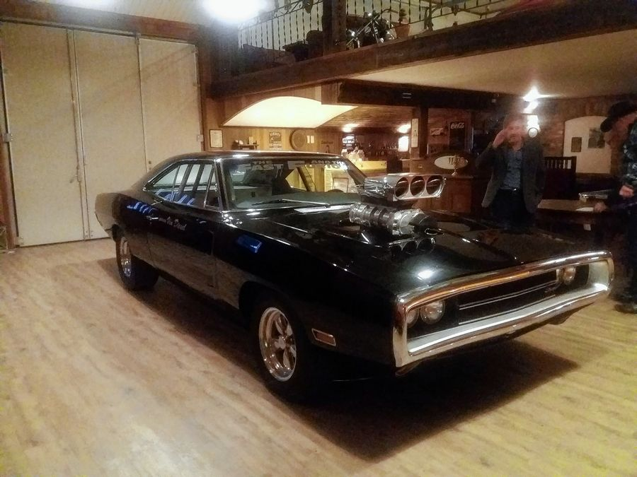 "This film-used Dodge Charger R/T from ""The Fast and The Furious"" spent 10 years in a Norwegian collector's man cave. The Volo Auto Museum, which sold the car to the collector, has bought it back."