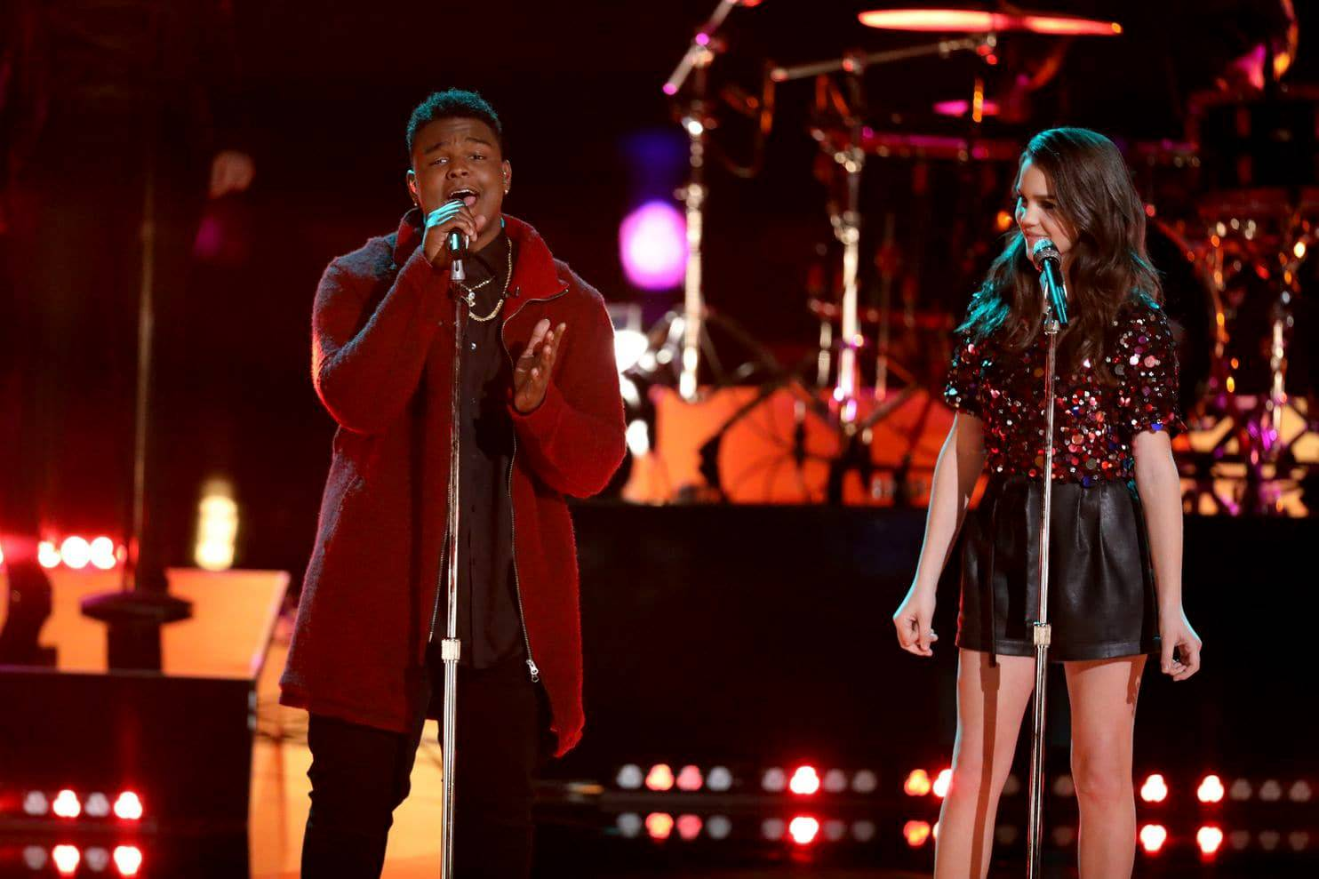 "DeAndre Nico and Reagan Strange, both on Team Adam, appeared in an earlier episode of ""The Voice."" Both have been sent home, and Nico's exit stirred plenty of controversy."