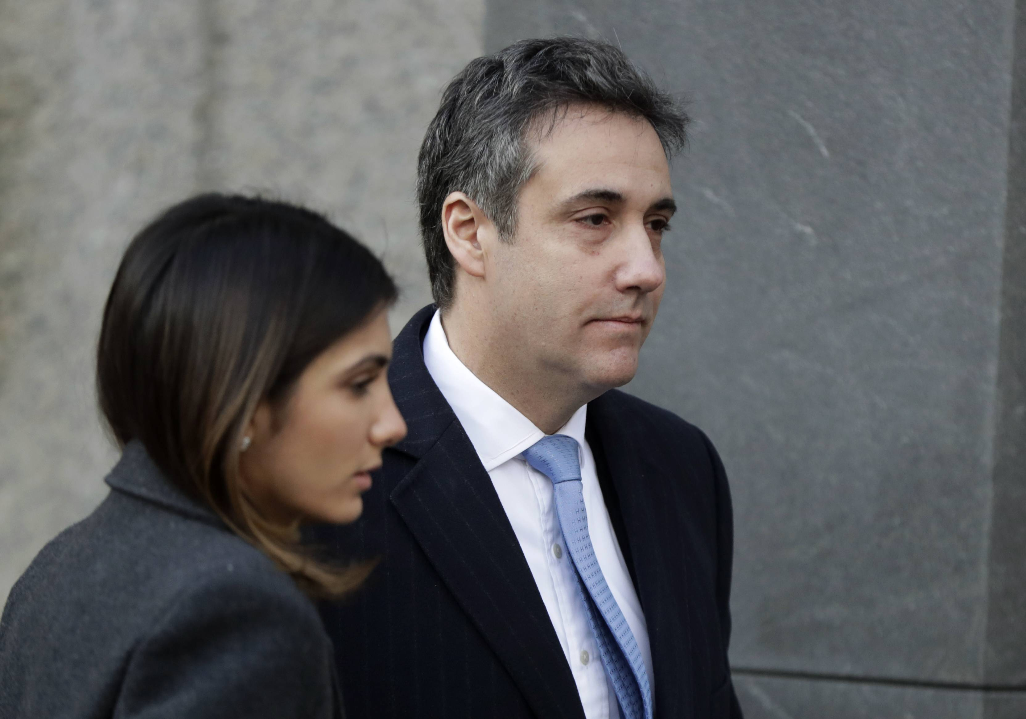 "Michael Cohen, President Donald Trump's once-devoted lawyer and all-around fixer, was sentenced Wednesday to three years in prison for allowing what he said was his ""blind loyalty"" to Trump to lead him astray. ""I felt it was my duty to cover up his dirty deeds,"" he said."