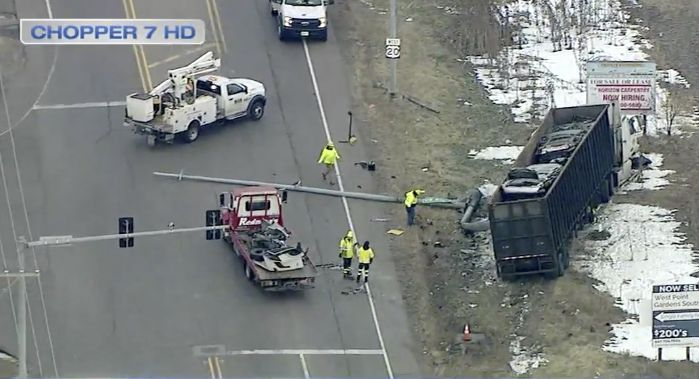 Elgin Man Dies In Early Morning Crash At Route 20 Nesler Road