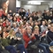 Crowd urges District 211 board, teachers to avoid strike