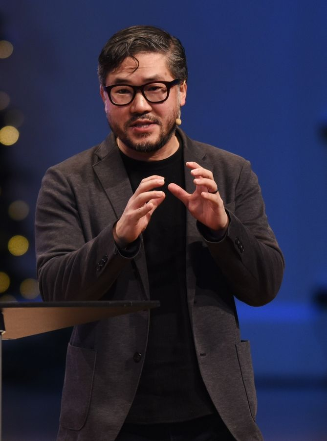 Eugene Cho, a Seattle pastor, called for more women in leadership positions within evangelical churches.