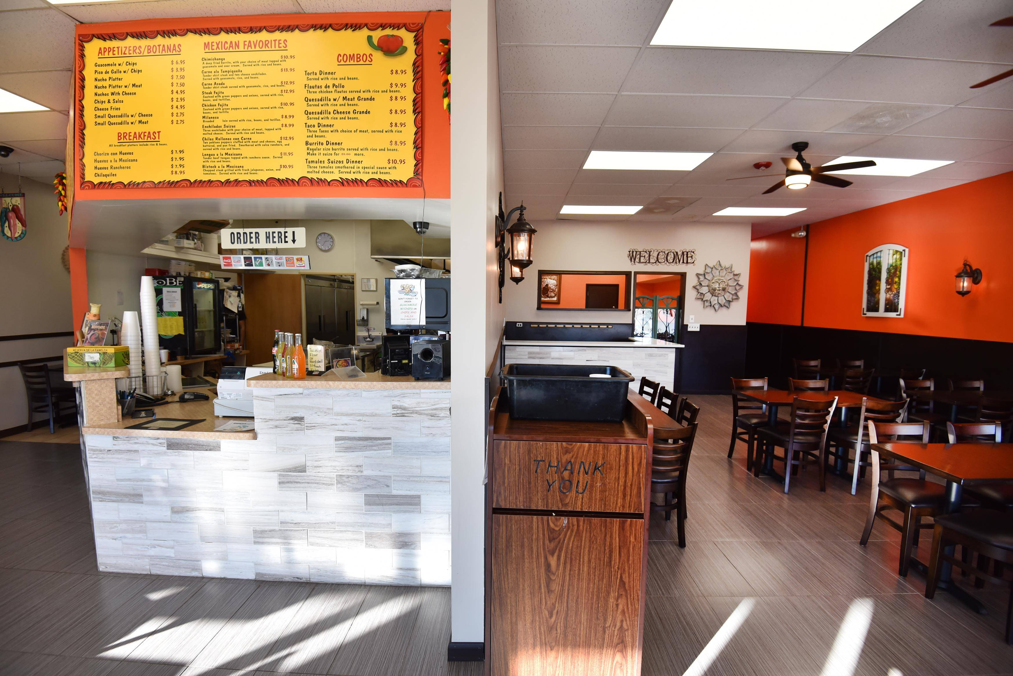 John Starks/jstarks@dailyherald.com Sergio's Fresh Mexican Grill in Lake Zurich has expanded to seat 60. Owner Sergio Briseno is also working on adding a private party room that can seat 20.