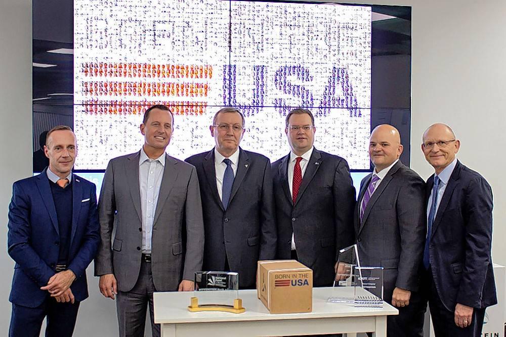 Ambassador visits Bartlett manufacturers
