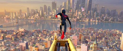 """Spider-Man: Into the Spider-Verse"" swung to the top of the domestic box office in its first weekend in theaters."