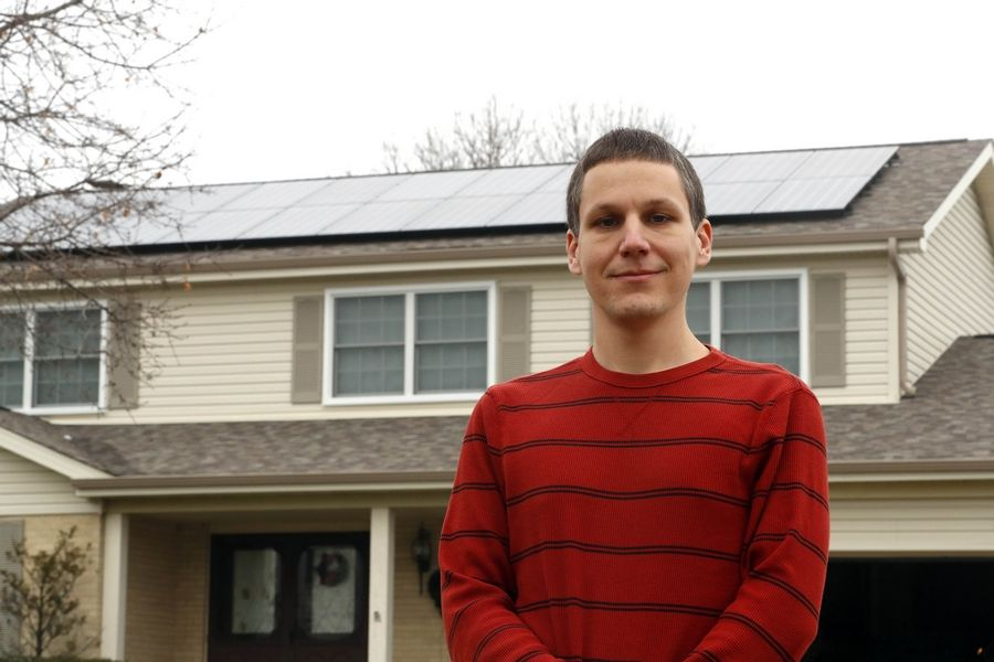 Schaumburg resident Ryan Ziolko installed solar panels on his house in April, a few months after the village was designated a SolSmart community. More municipalities are following suit.
