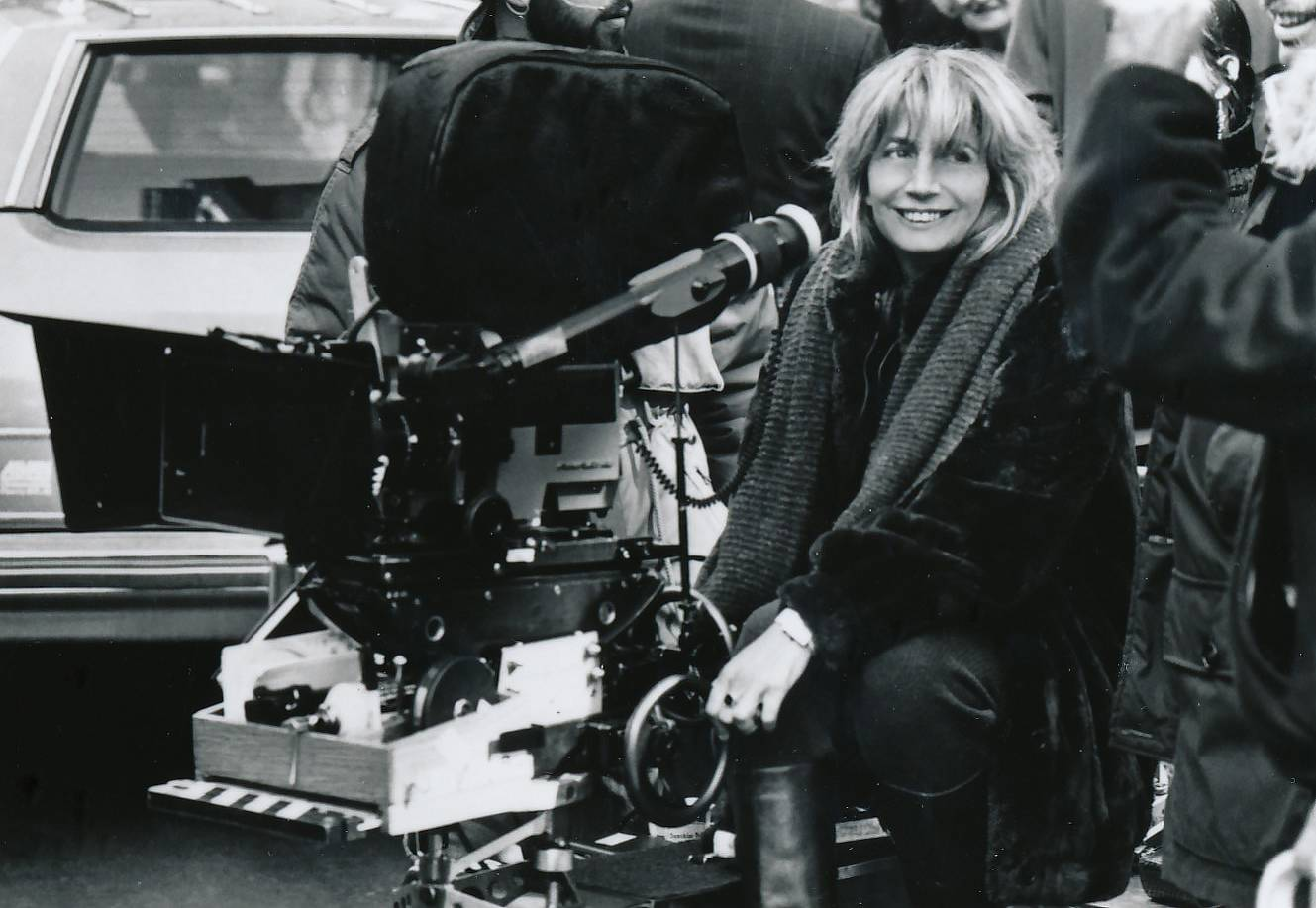 "Penny Marshall directing the movie ""Big."""