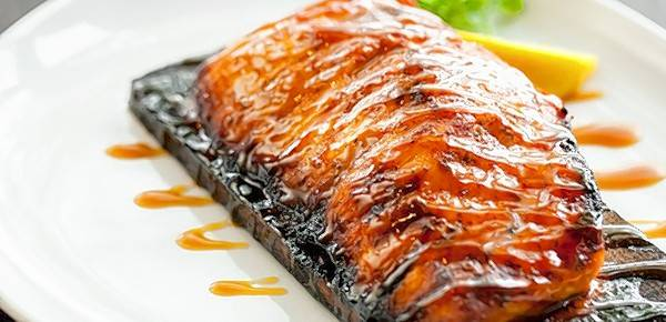Dine on specialties like the cedar planked salmon at Wildfire this holiday.