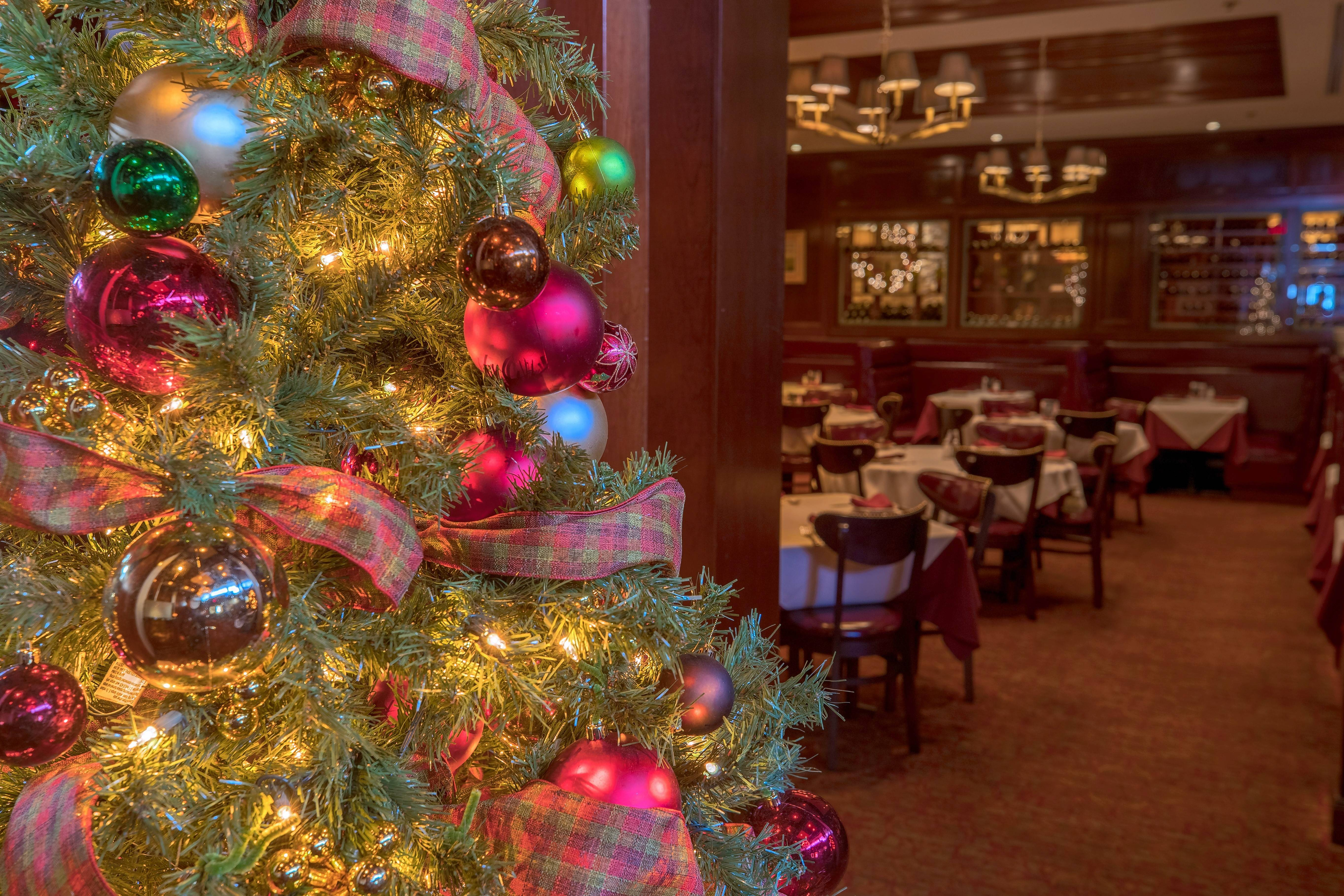 Celebrate the holidays in style at Gene & Georgetti in Rosemont.