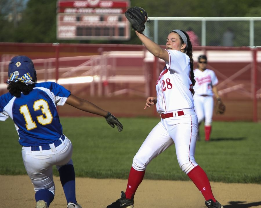 Girls softball action at Naperville Central High School will take place on a renovated -- and potentially relocated -- field in Naperville Park District's Knoch Park starting in spring 2020. Field work, at an estimated cost of $800,000, is set to begin in July 2019.