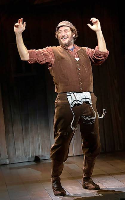 "Israeli actor Yehezkel Lazarov plays Tevye, the tradition-bound milkman in the national tour of ""Fiddler on the Roof,"" running through Jan. 6 at Chicago's Cadillac Palace."