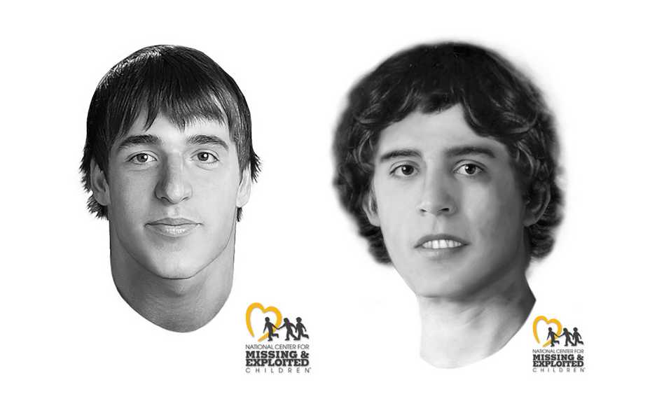 Images Of John Doe 10 Left And 13 Right