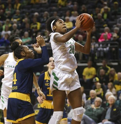 No. 7 Oregon women beat UC Irvine 115-69