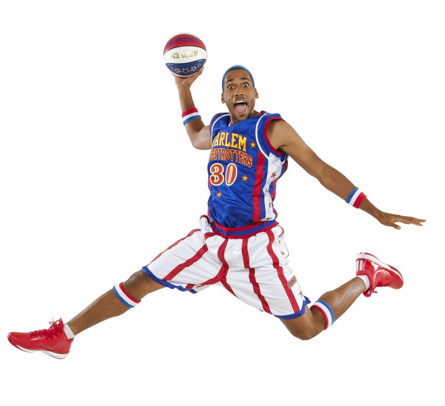 Zeus McClurkin is a forward with The Original Harlem Globetrotters, who will tour back to Rosemont and Chicago this week.