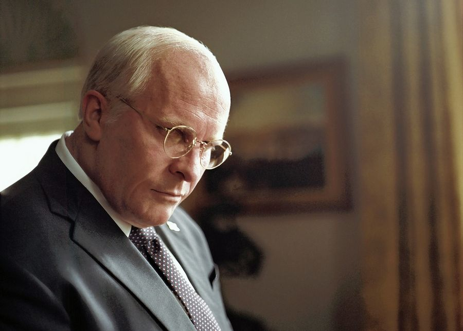 "Adam McKay's ""Vice,"" starring Christian Bale as former Vice President Dick Cheney, makes Dann Gire's list of top films of 2018."