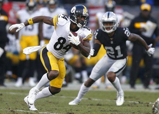 5e25461d907 Steelers  Antonio Brown questionable vs. Cincinnati