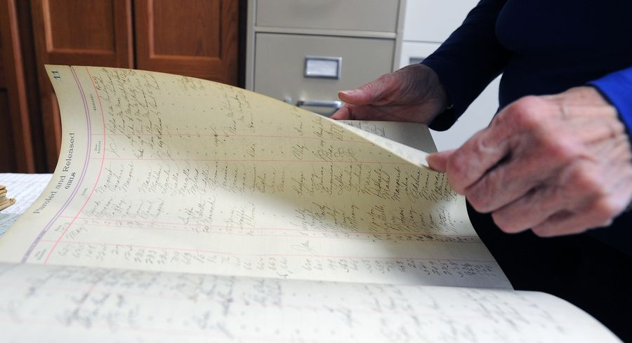 Records from 100 years ago help descendants realize why a parent or even grandparent needed help as a child, says Mary Ellen D'Amato, compliance officer at Maryville Academy in Des Plaines.