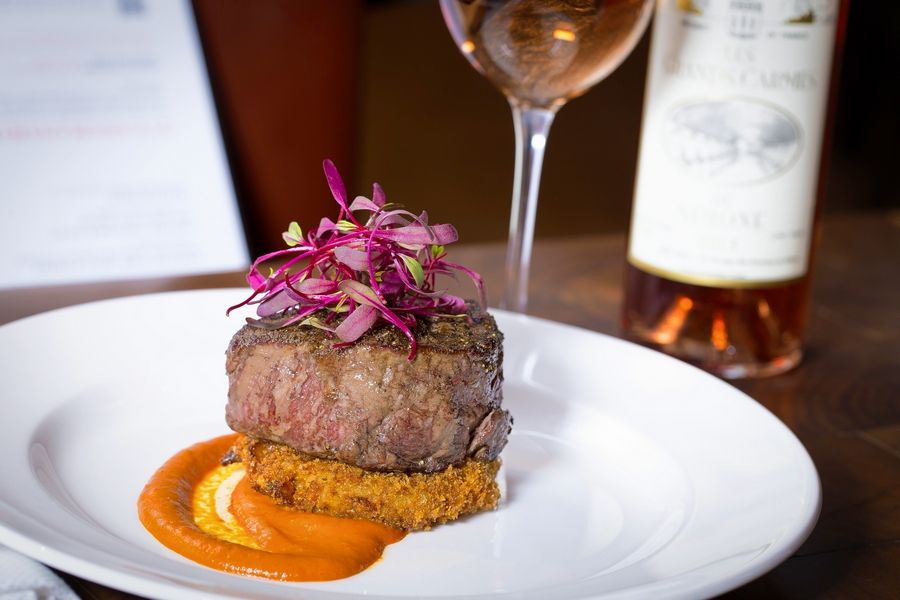 Michael Jordan's serves up a petite filet as one of the options for its New Year's Eve party.