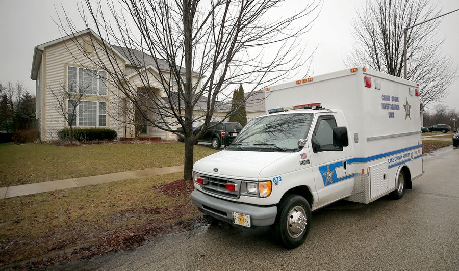 Lake County Sheriff's detectives continue to investigate the death of 47-year-old woman who was found dead Monday in her home on the 34100 block of North Broomsedge Road in Grant Township.