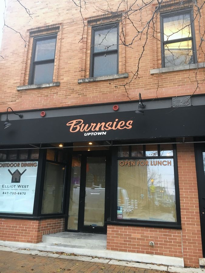 Burnsies Uptown, which will offer a modern take on small, urban deli/sandwich joints, is set to open in March/April in Libertyville.